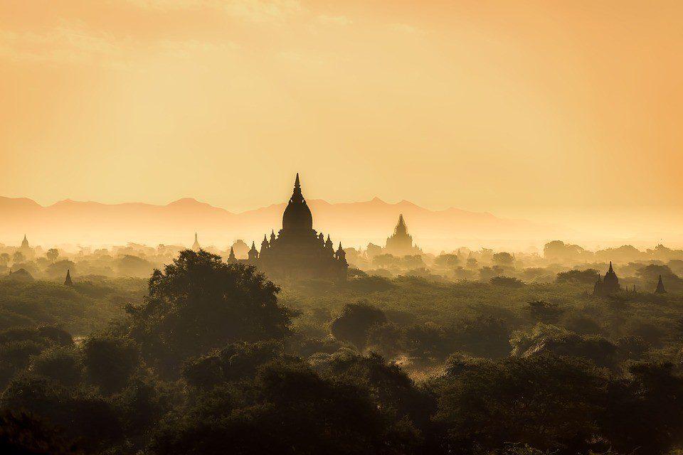 Birmania paesaggio