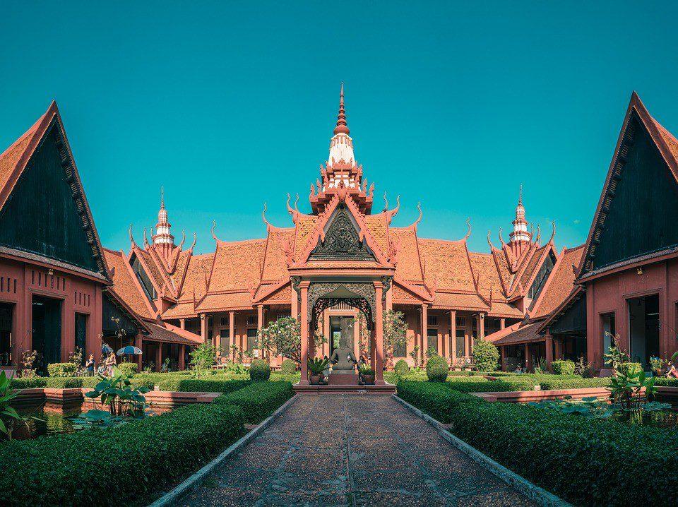 cambogia tempio