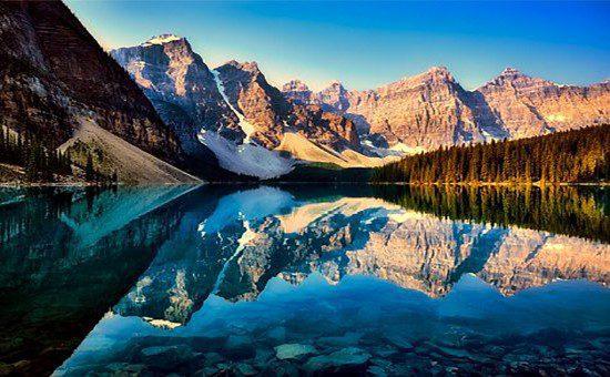 canada ovest paesaggio  Stati Uniti e Canada CANADA 2 1