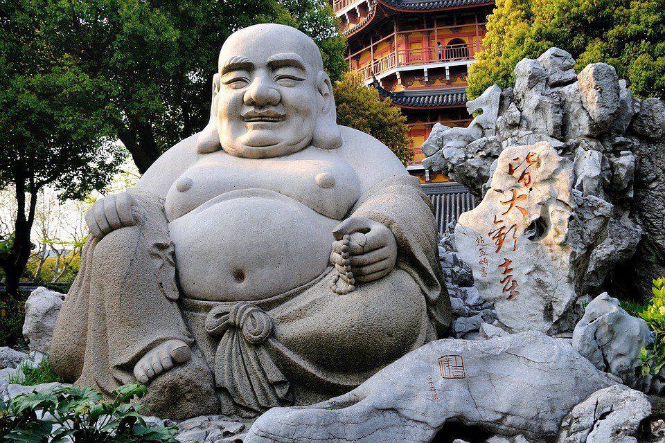 cina statua buddha