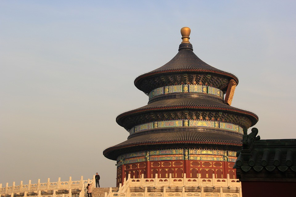 cina pechino tempio