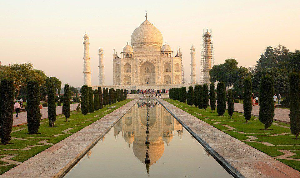 INDIA taj mahal agra  - INDIA 2 - Colors of India – Tour di Gruppo