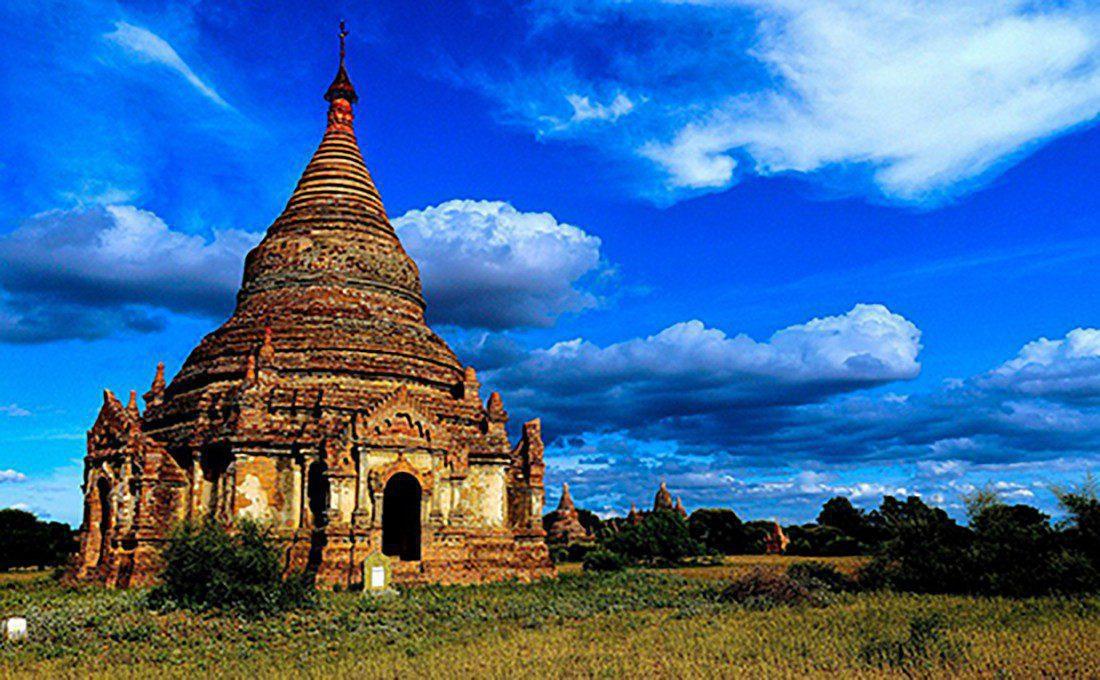 birmania pagoda bagan