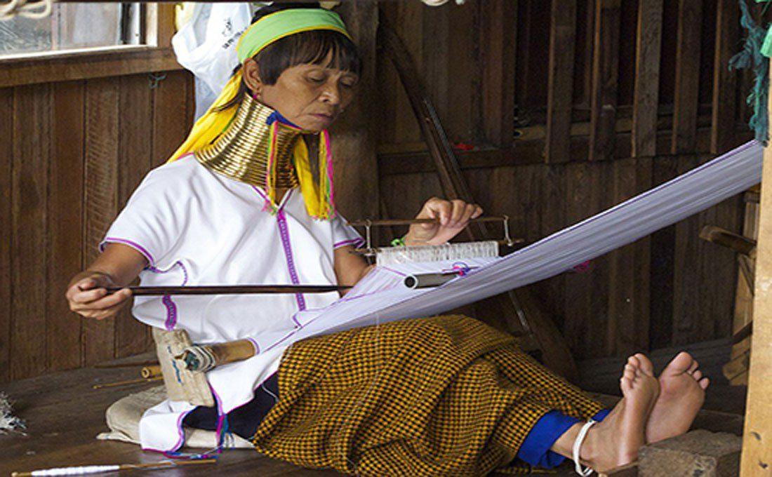 birmania etnia padaung