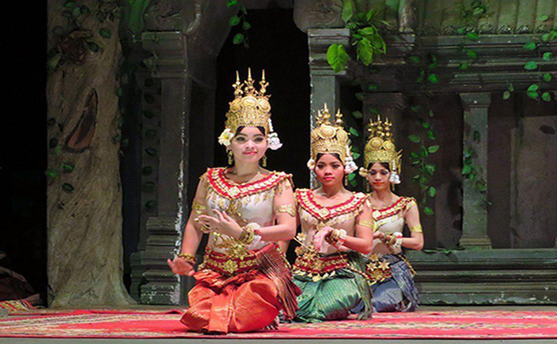 cambogia danzatrici