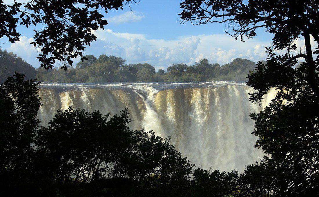 zambia cascate vittoria sudafrica - CASCATE VITTORIA - Sudafrica