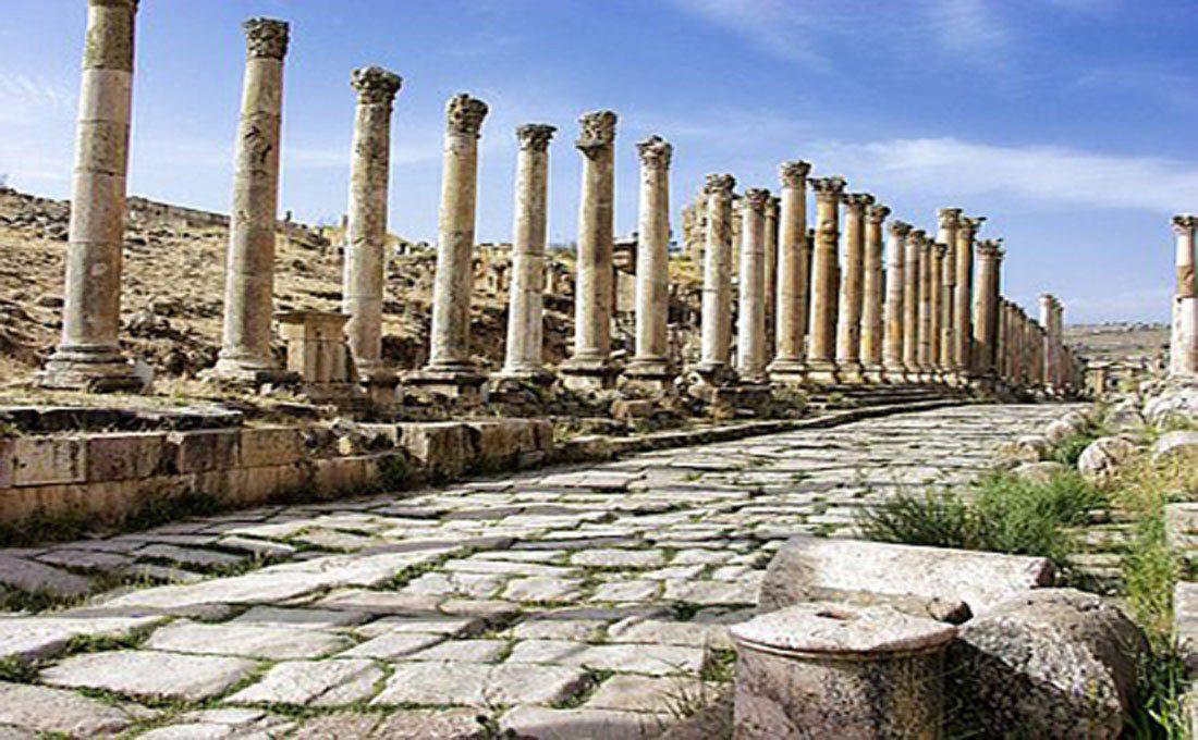 giordania rovine romane