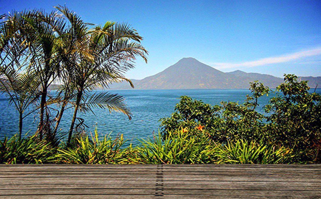 guatemala lago atitlan panorama  - GUATEMALA - Guatemala
