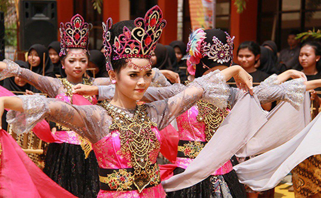 indonesia danzatrici