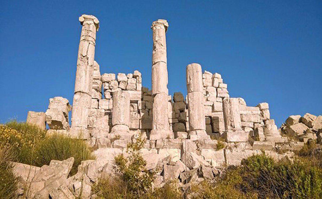 rovine romane libano