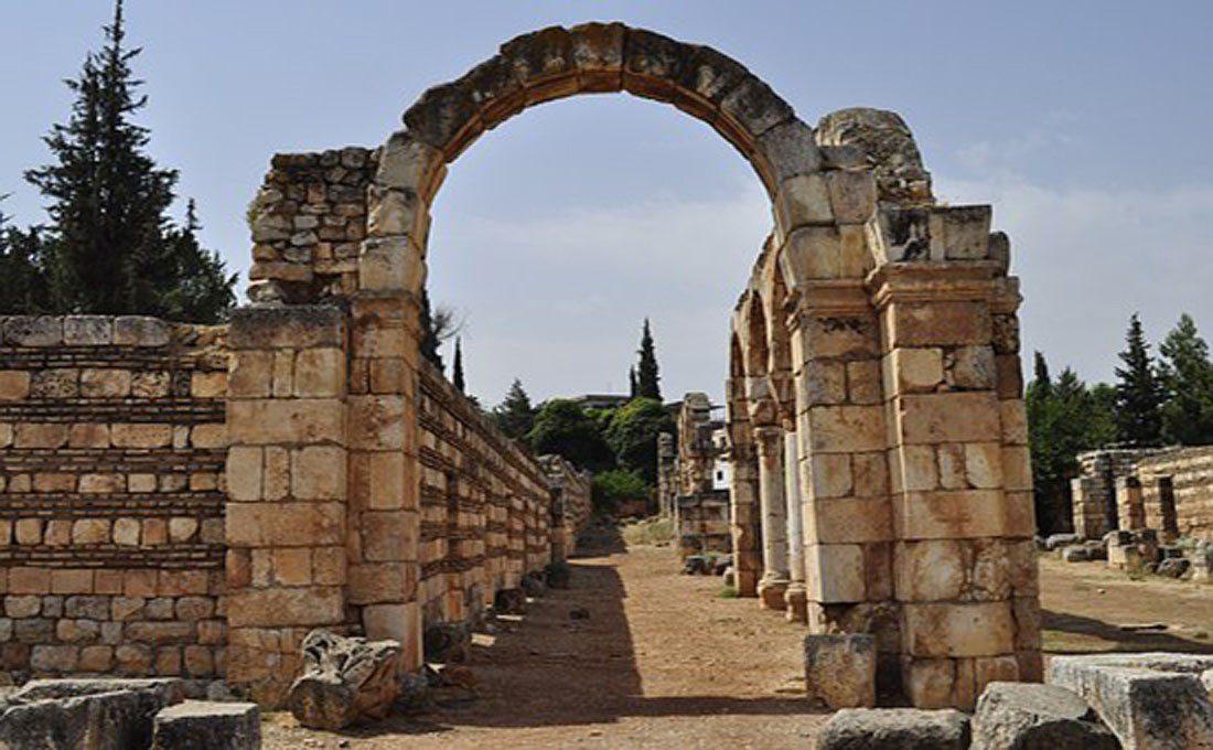 libano rovine romane