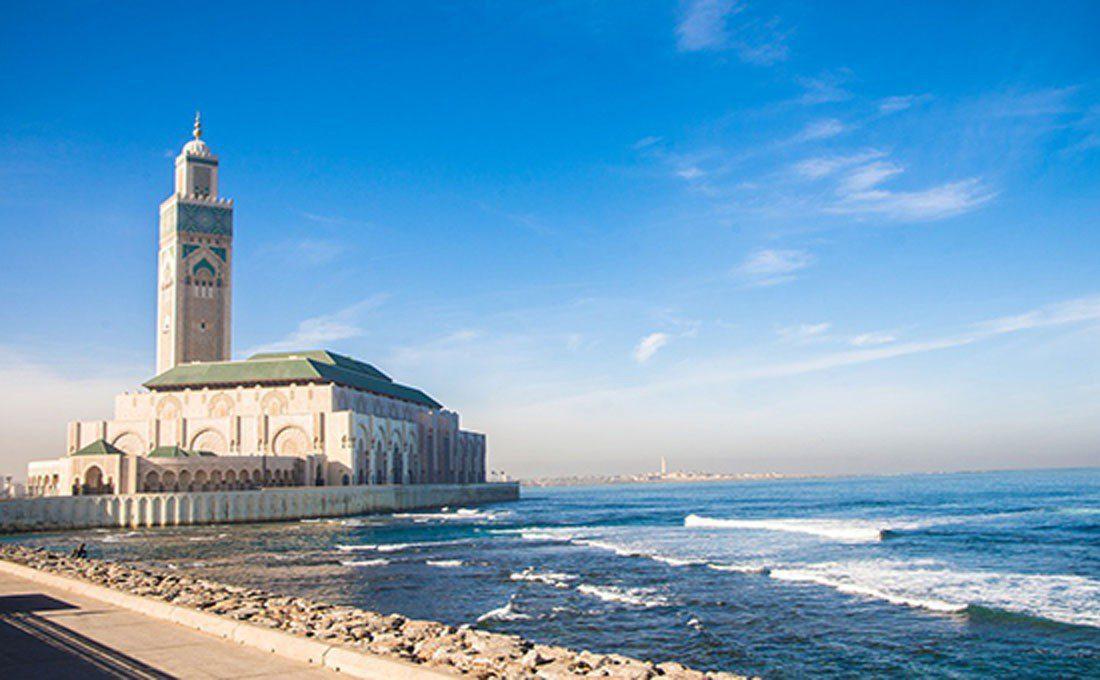 marocco casablanca moschea