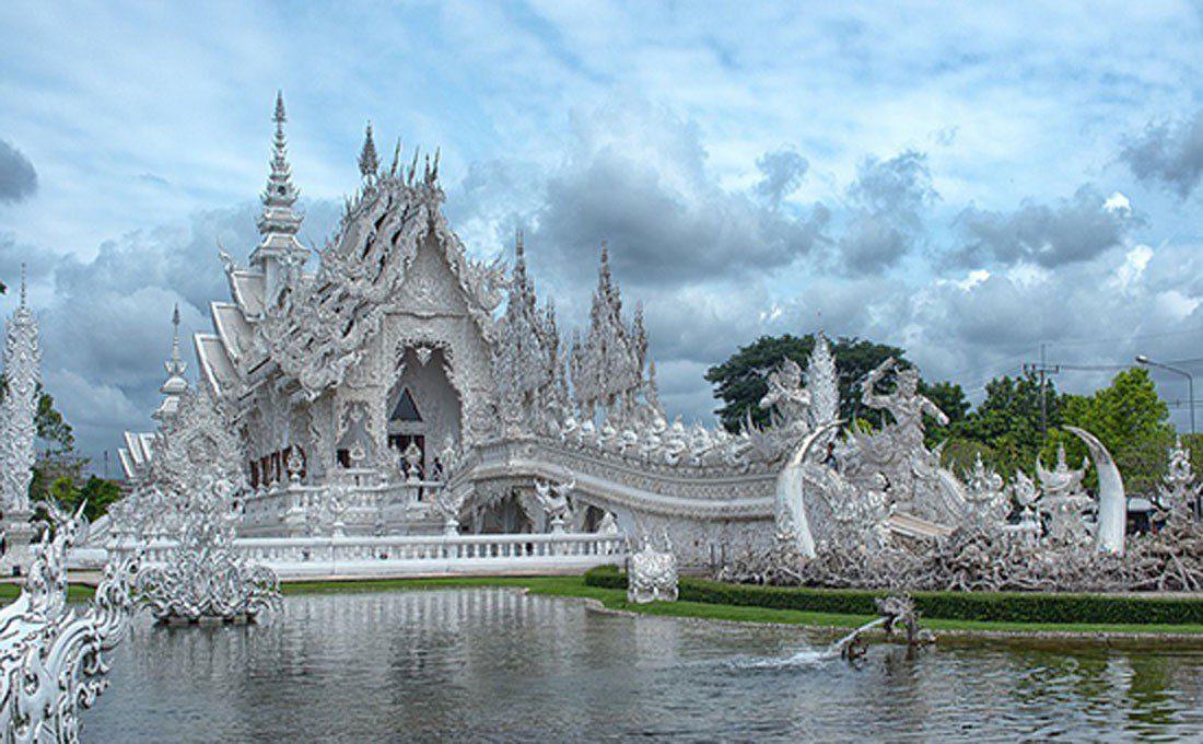 thailandia chiang rai wat rong khun