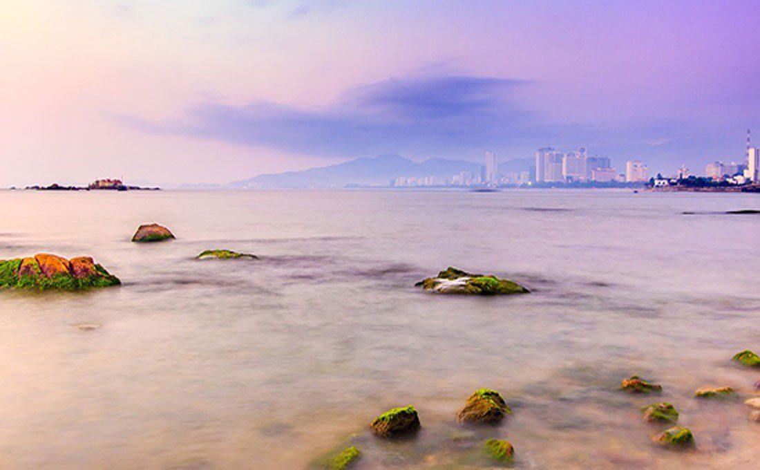 vietnam mare al tramonto