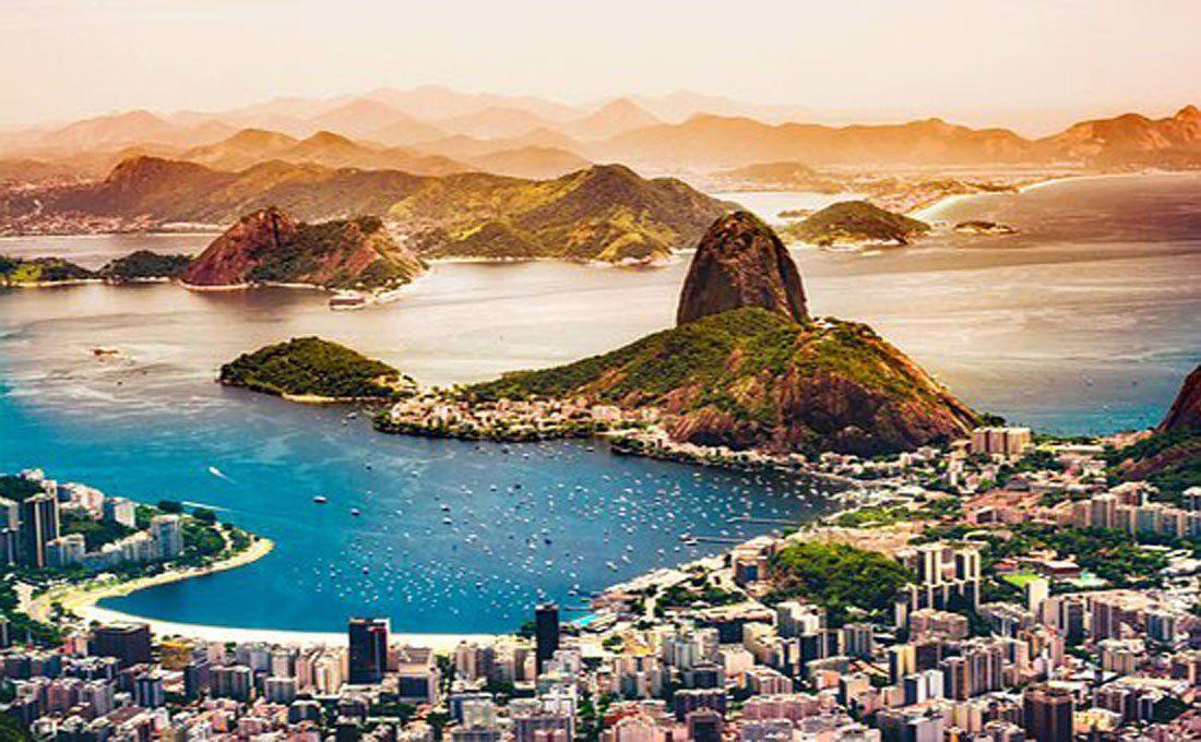 brasile rio de janeiro pan di zucchero  - brasile 1 - Centro e Sud America