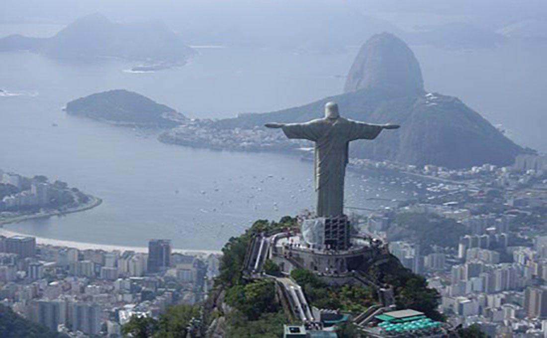 brasile rio de janeiro corcovado