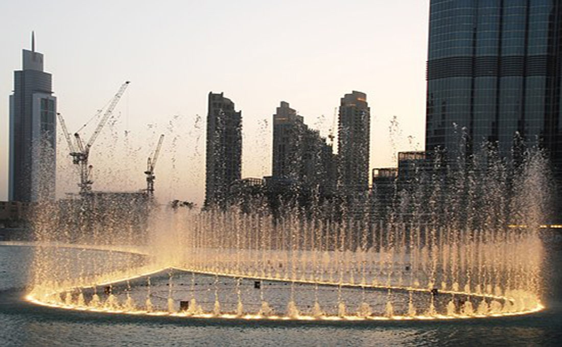 dubai fontana emirati arabi