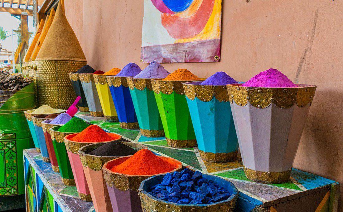 marrakech marocco mercato  - spezie marrakech - Offerte Natale e Capodanno