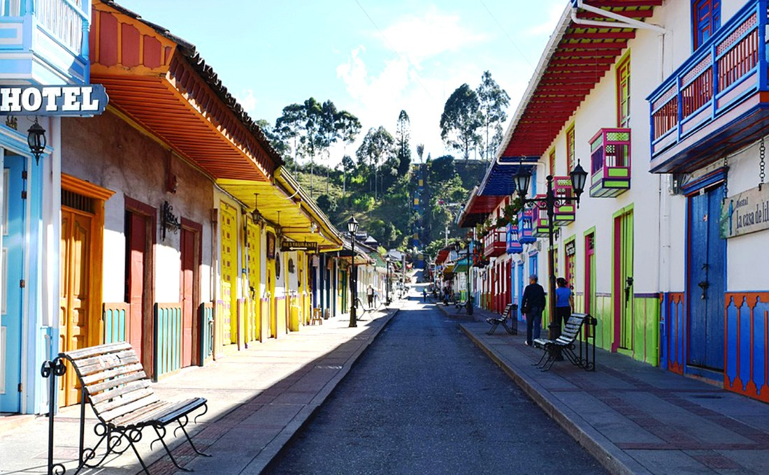 colombia quindido vicolo  - COLOMBIA CITTA - Colombia