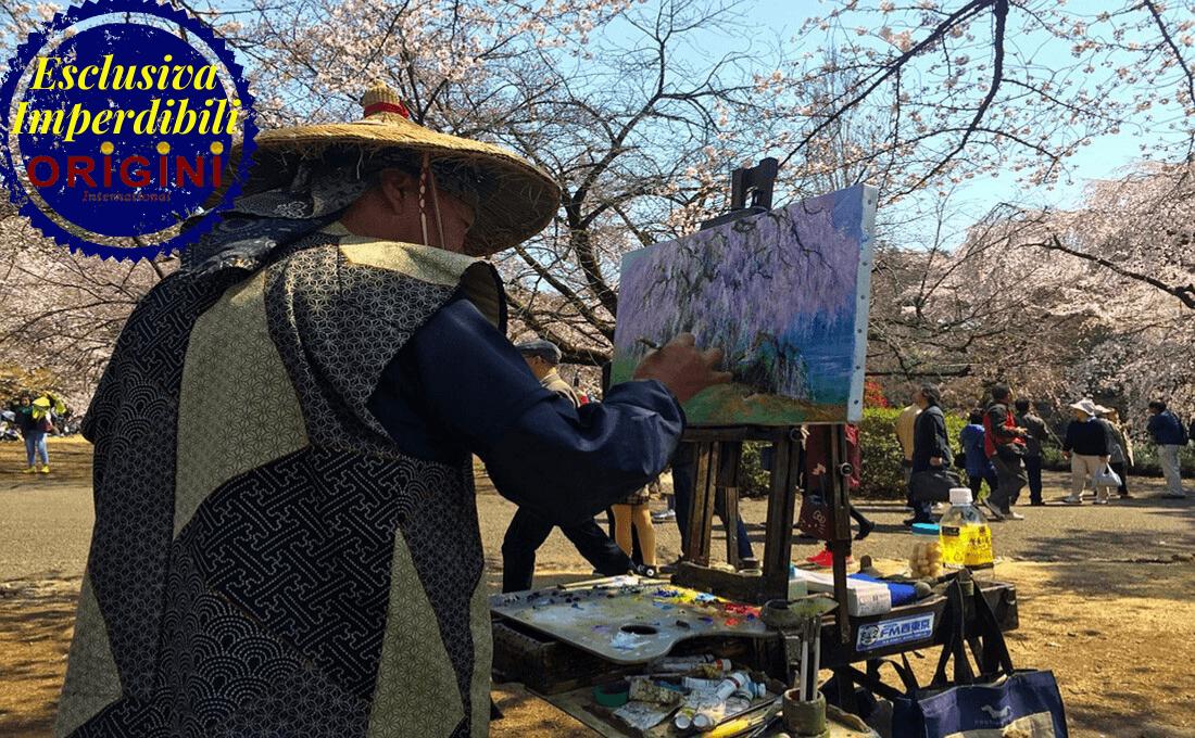 ammirare lo spettacolo della natura - giappone hanami tour - Ammirare lo Spettacolo della Natura